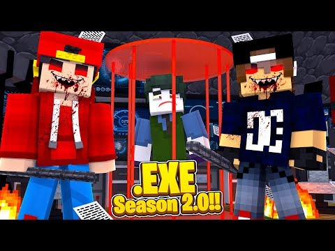 Minecraft .EXE 2.0 - ROPO.EXE  & JACK.EXE TRY TO BREAK THE JOKER OUT OF A MAXIMUM SECURITY PRISON!!!