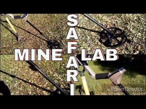 Metal detecting with new Minelab Safari....
