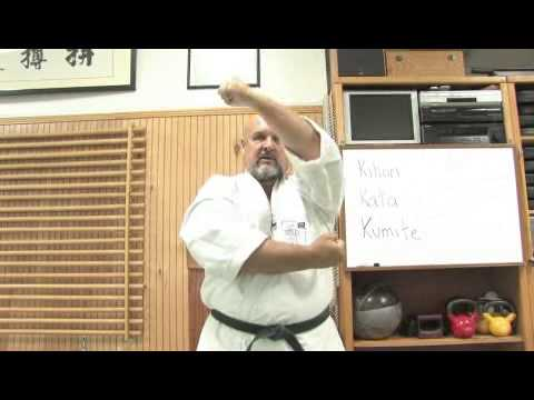 Three Blocks In Okinawan Karate