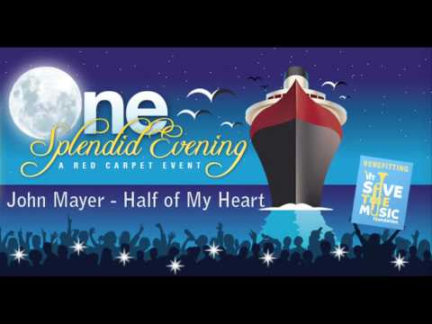 John Mayer - Half of My Heart (Better Quality)