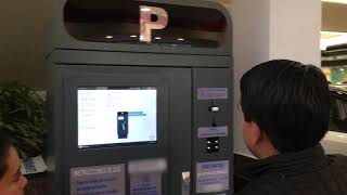 Defero Technology parking management system pay on foot station auto payment machine youtube video