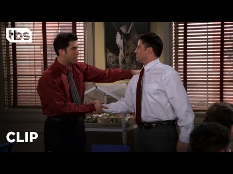 Friends: Ross Breaks Down Barriers at the Museum (Season 4 Clip) | TBS