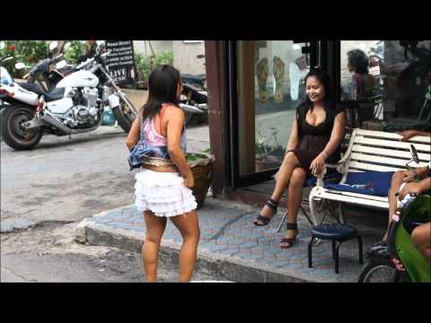 HulaHoop Massage Girls in Thailand