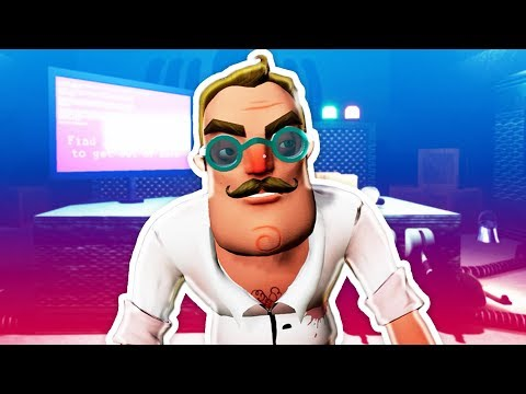 NEW DOCTOR HELLO NEIGHBOR! (Hello Neighbor Mods RedHatter) (видео)