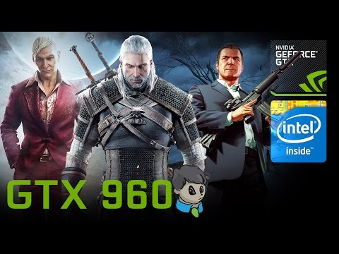 GTX 960 Gaming\ 20 Games In 15 Min \ GTA V Witcher 3 MGS V And More