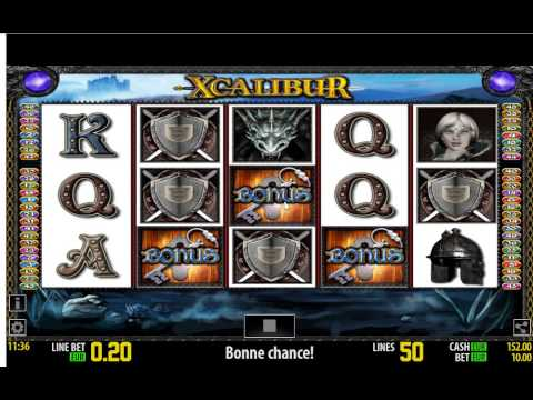 Xcalibur Slot Bonus Chiavi