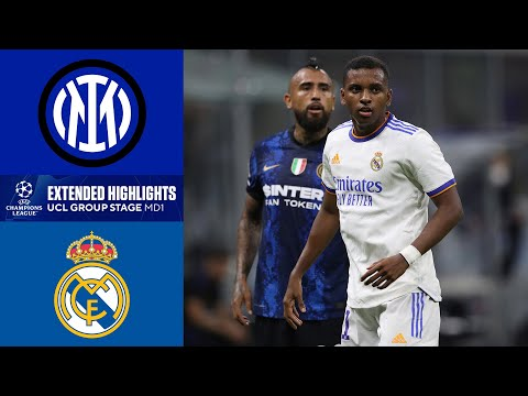Inter Milan vs. Real Madrid: Extended Highlights | UCL Group Stage MD 1 | CBS Sports Golazo