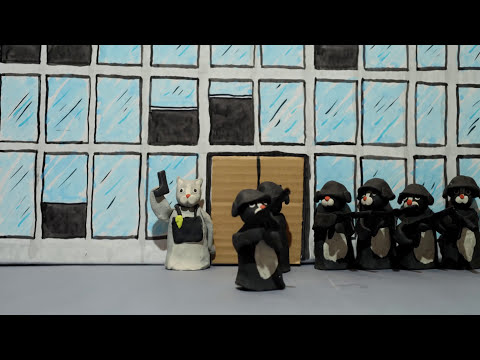 claymation - Action film THE RAID retold with claymation cats. http://facebook.com/leehardcastle http://twitter.com/leehardcastle http://instagram.com/leehardcastle http:...