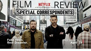 Nonton Special Correspondents  2016  Comedy Film Review  Ricky Gervais Eric Bana  Film Subtitle Indonesia Streaming Movie Download