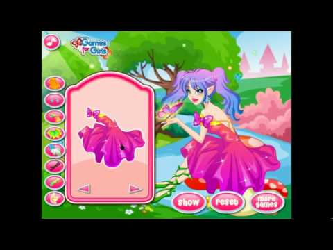 Flower Fairy In The Butterfly Land-Y8 Com Best Funny Online Games