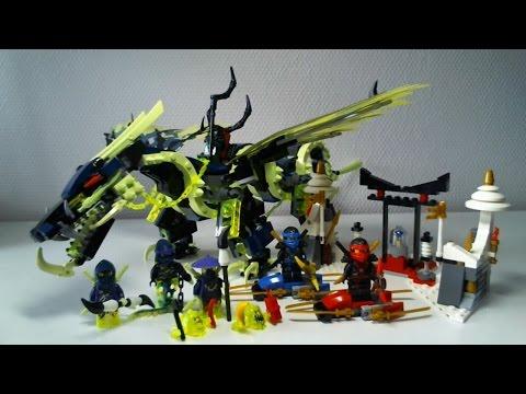 Vidéo LEGO Ninjago 70736 : L'attaque du dragon Moro
