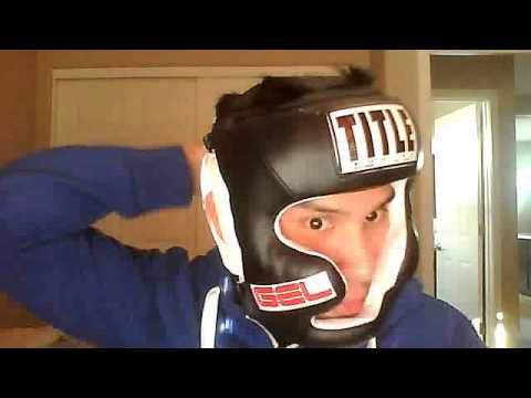 Title Boxing GEL World Full-Face Training Headgear Review. Size Large.