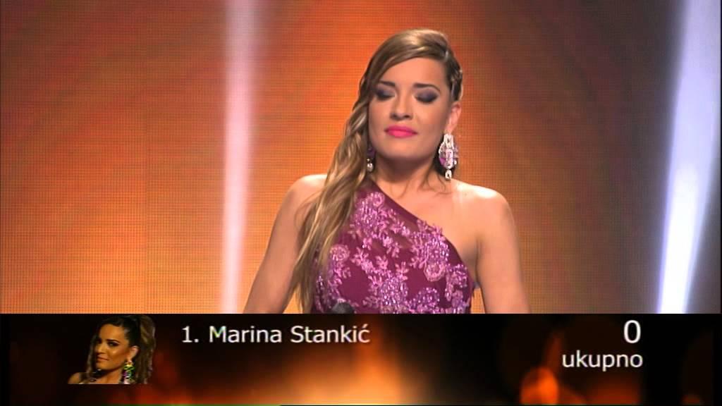 Marina Stankić – Poželi sreću drugima – 43 emisija (20. 06. – polufinale)