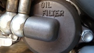 8. KTM LC4 640 oil change
