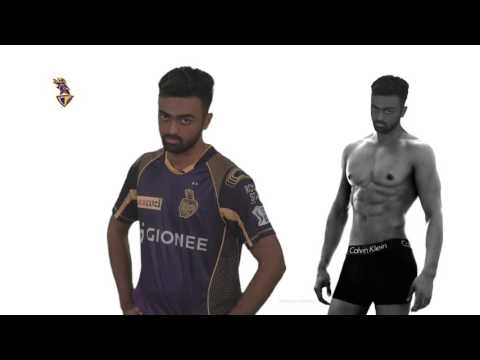 KKR Players Model for Their Favourite Brands | Knights Silly Point | Inside KKR