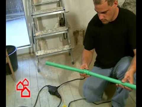 BAUHAUS TV - Grünes Rohr verlegen