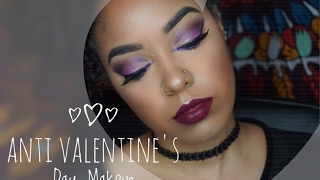 Hi guys welcome back to my youtube channel!! I really hope you guys enjoy this Anti Valentine's Day cut crease look I've done. You can recreate this look for...