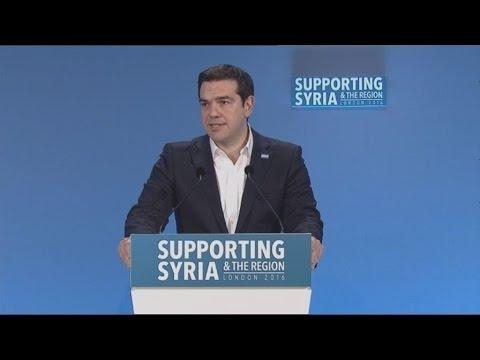 Ομιλία του πρωθυπουργού στη Διάσκεψη Δωρητών για τη Συρία