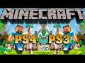 Minecraft PS4 vs PS3 Comparación grafica