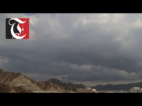 Rain falls in parts of Muscat