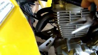 6. Honda 400EX Valve Ajustment and Oil Change Part 1