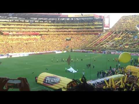 BARCELONA SPORTING CLUB - RECIBIMIENTO AL EQUIPO - Sur Oscura - Barcelona Sporting Club