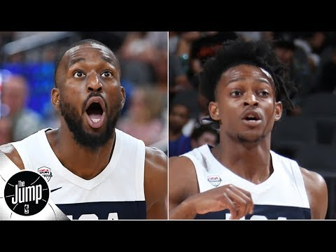 Video: Projecting the Team USA starting lineup at the 2019 FIBA World Cup | The Jump