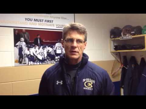 Women's Hockey: Coach Collins Post-Game Comments against St. Thomas 11/7/14