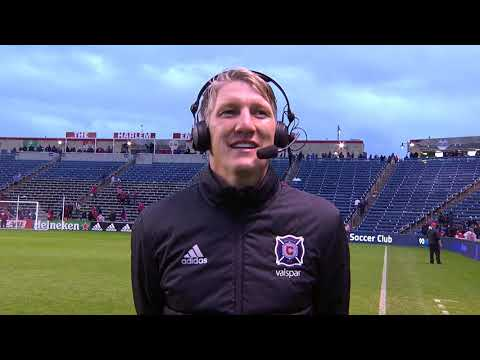 Video: #CHIvDC Postmatch Reaction | Bastian Schweinsteiger