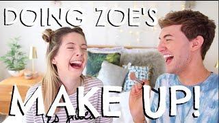 DOING ZOE'S MAKE UP PART 2
