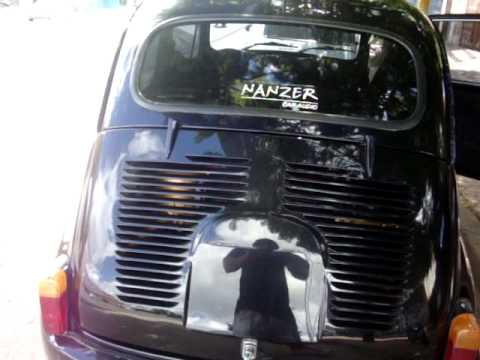 Fiat 600 Car Audio + Tuning Extremo   By Nanzer Car Audio