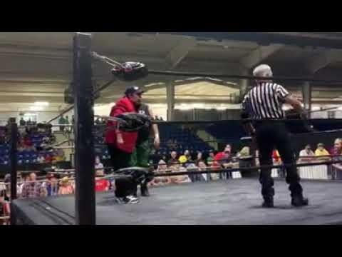 Neil The Real Deal Taylor vs Jerry The King Lawler - EPW Wrestling/Alcorn Fair 9-20-19
