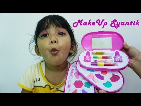 Unboxing Make Up Frozen dan Telur My Little Pony