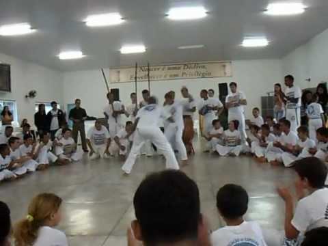 Batizado de capoeria em Mundo Novo 21/10/2012
