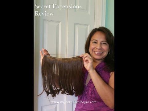 Secret Extensions Review de Extensiones de Cabello