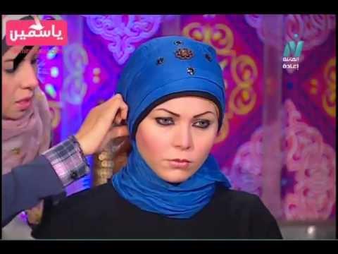 احدث 3 لفات طرح الحجاب 2013
