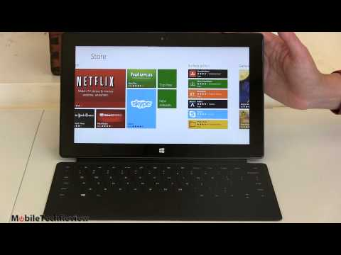 Surface - Lisa Gade reviews the Microsoft Surface RT Windows 8 RT tablet. This is a 10.6