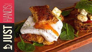 Pastry Breakfast Sandwich | Akis Kitchen by Akis Kitchen