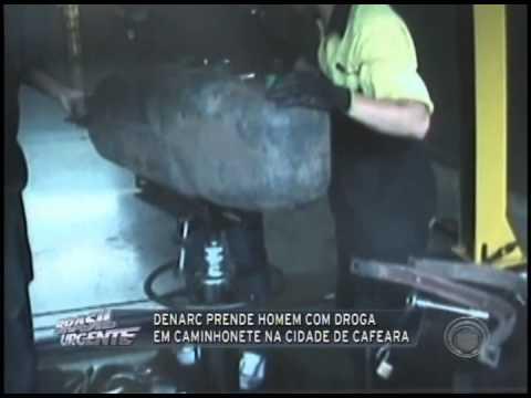 Denarc prende homem com droga em caminhonete na cidade de Cafeara (27/02)