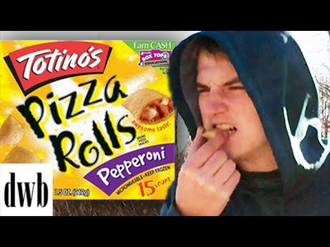 How To Deep Fry Pizza Rolls - DWB