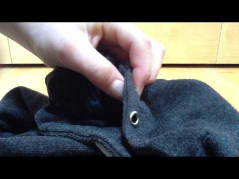 Remettre un lacet dans un pantalon / pull - Méthode