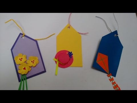 How to Make Paper Name Tags 3 Paper Name / Gift Tags