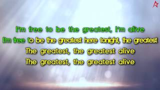 To ensure that you never miss a brand new hit song, please subscribe to the Karaoke Star channel: http://bit.ly/1X3i5gmSia - The Greatest (Lyrics)Sia - The Greatest (Karaoke)Sia - The Greatest (Instrumental)