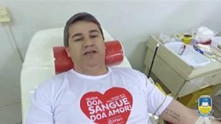 Quem doa sangue doa amor