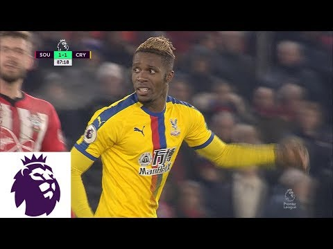 Video: Crystal Palace's Zaha loses cool, given two quick yellow cards   Premier League   NBC Sports