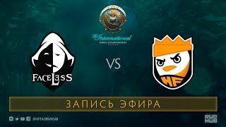 Faceless vs Happy Feet, The International 2017 Qualifiers [Lum1Sit]