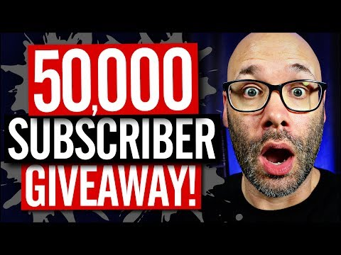 50,000 Subscriber Giveaway! - Thank You!