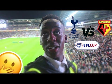 SNEAKING INTO WATFORD VS TOTTENHAM MATCH!!! Ft. Erik Lamela