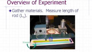 Physics Pre-lab Lecture: Linear expansion