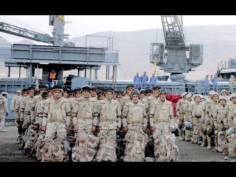 فيديو  طلائع القوات المشاركة في أكبر مناورة بالمنطقة تصل إلى السعودية